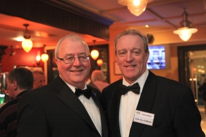 Liam with Finín Mac a' Bhaird, Donegal Association Committee.